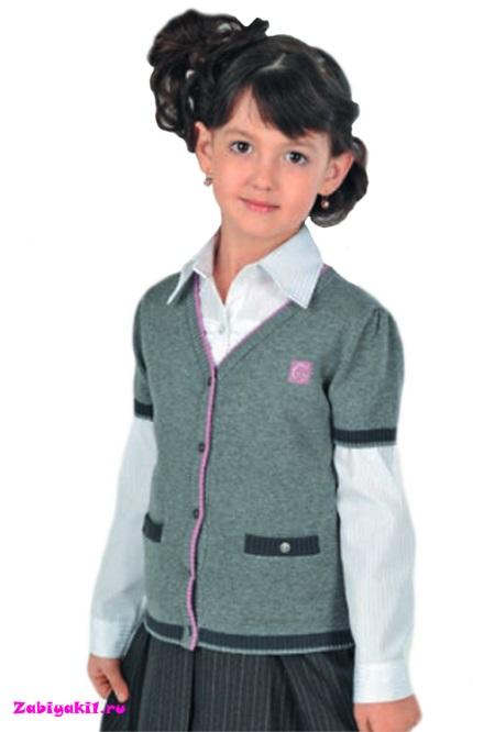 Жакет с короткими рукавами для девочки Гермиона