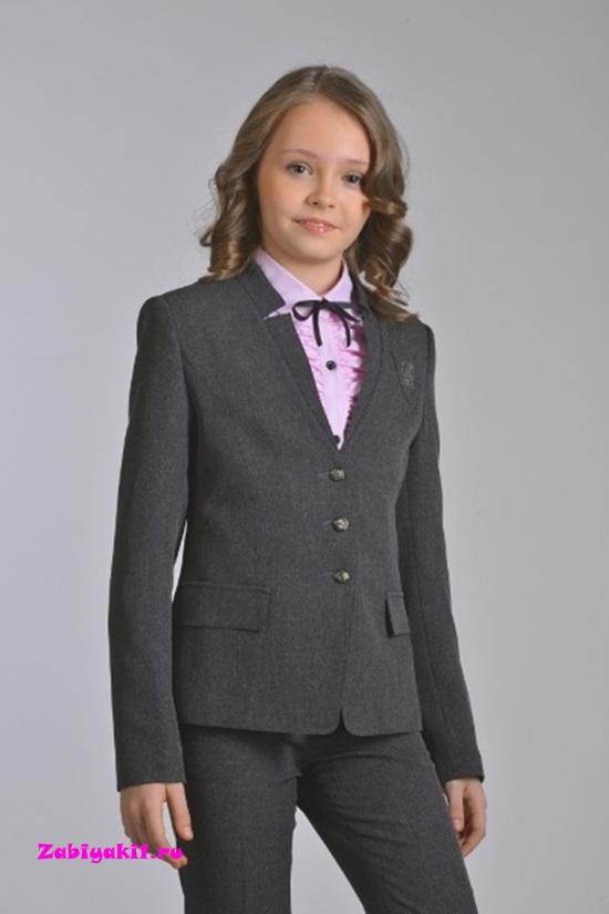 Школьный жакет для девочки Гермиона-модница