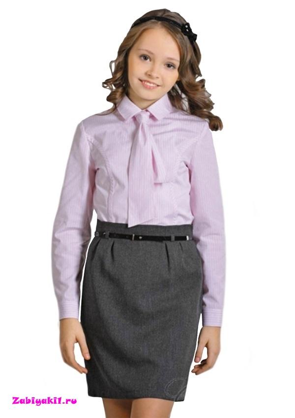 Школьные серые юбки