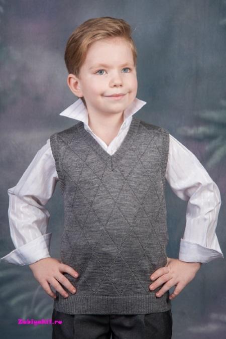 Жилет c V-образным вырезом для мальчика Bosser