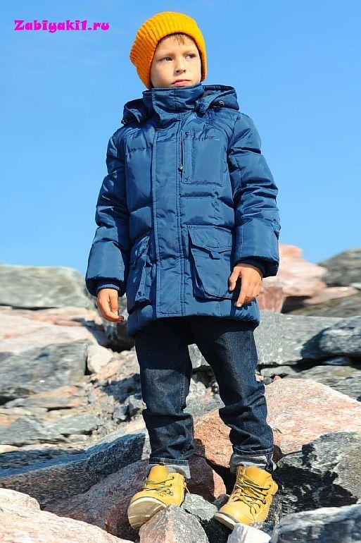 Зимняя куртка-парка на зиму для мальчика Taffalar
