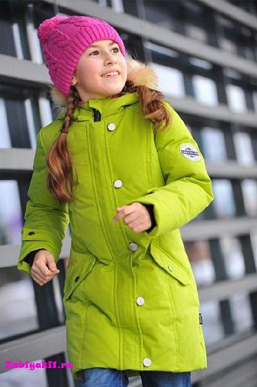 Зимняя куртка для девочки Taffalar