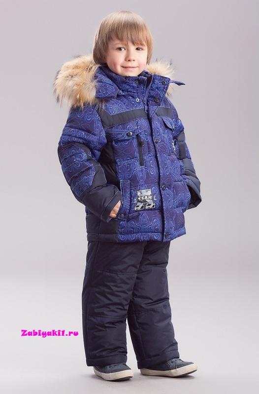 Комплект, куртка и полукомбинезон для мальчика на зиму