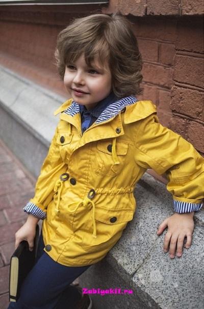 Ветровка-парка для мальчика OLDOS