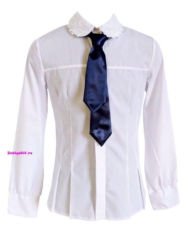 Нарядная блузка к школе для девочки 6,7,8,9,10,11,12 лет