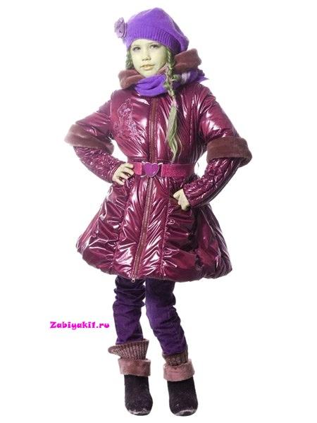 Осеннее пальто для девочки Orby
