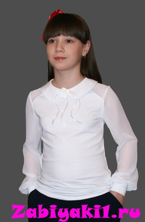 Нарядная блузка для девочки в школу, Mattiel