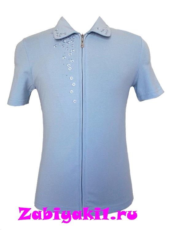 Блузка на молнии для девочек 6-7-8-9-10-11-12-13-14-15-16, Deloras