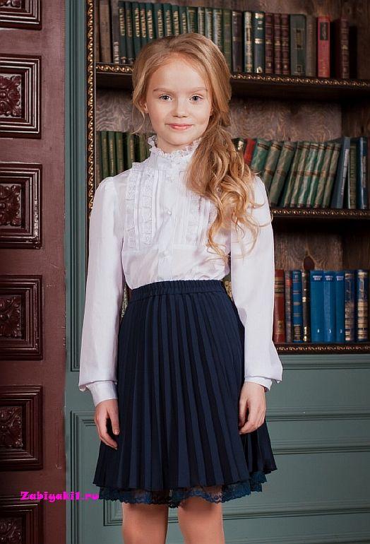 Нарядная блузка для девочек Непоседы