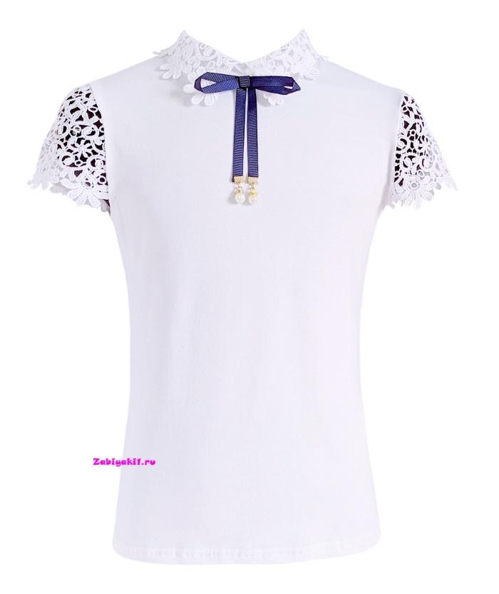 Блузка с кружевом для девочки Deloras