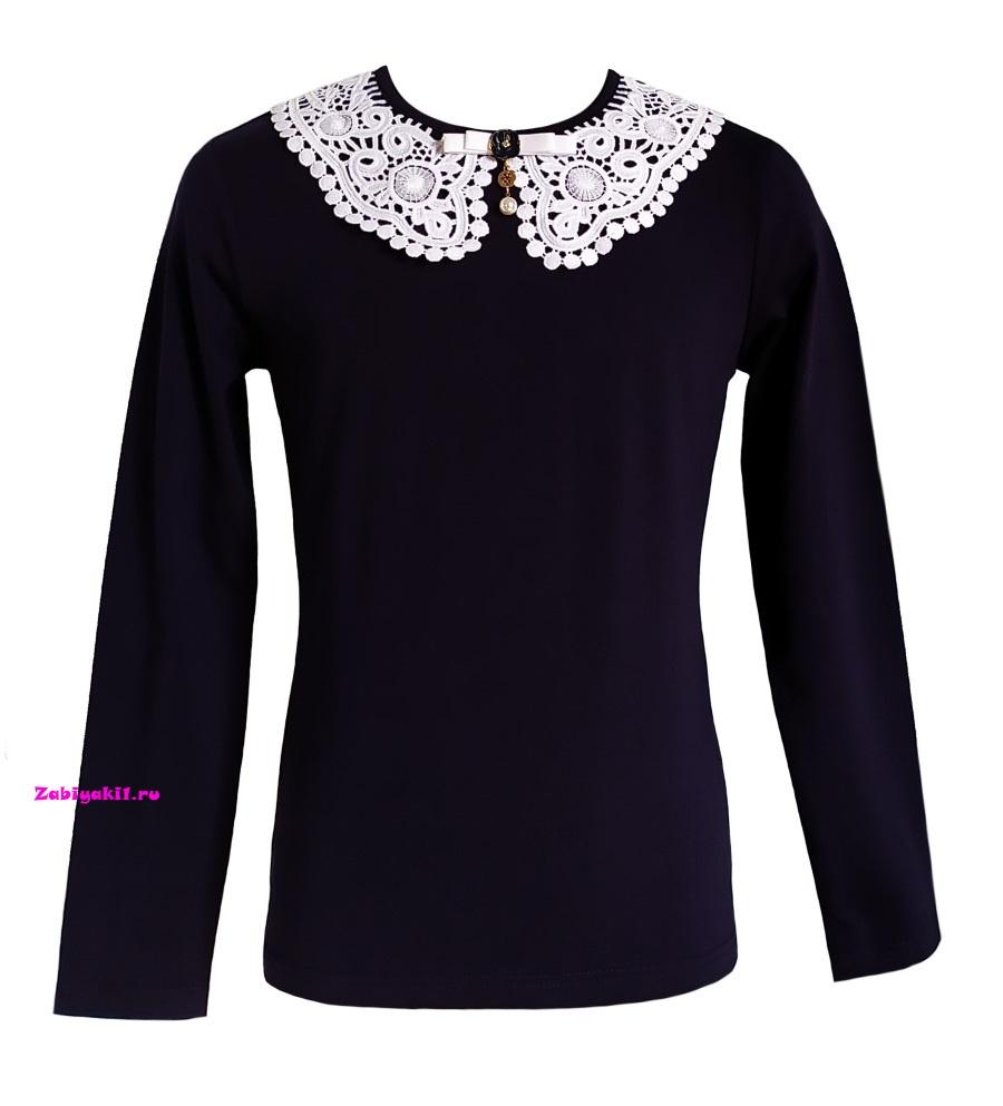 Школьная блузка для девочек от Deloras - купить в интернет-магазине Zabiyaki1.ru