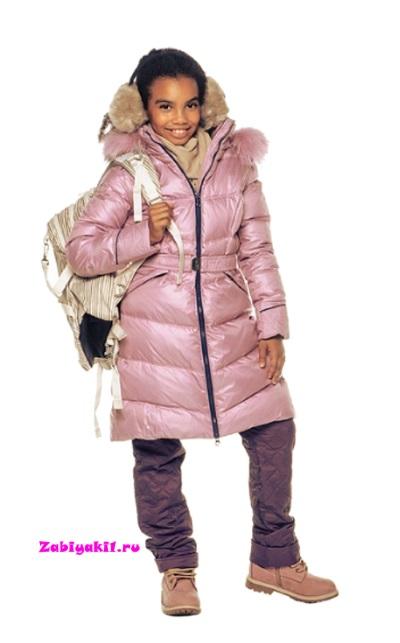 Зимнее пальто для девочки подростка от Snowimage junior - купить в интернет-магазине Забияки, арт.704