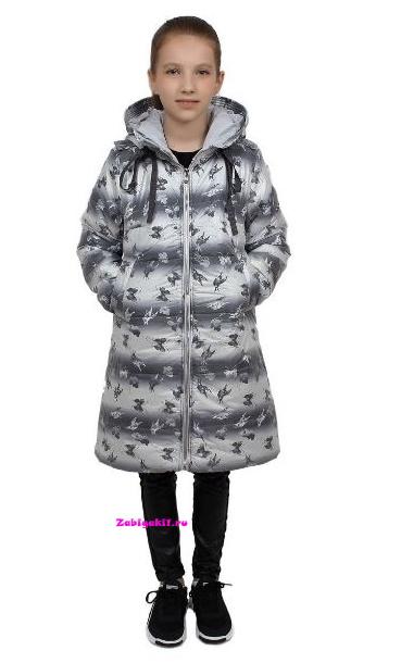 Подростковое пальто для девочки Malinoffka