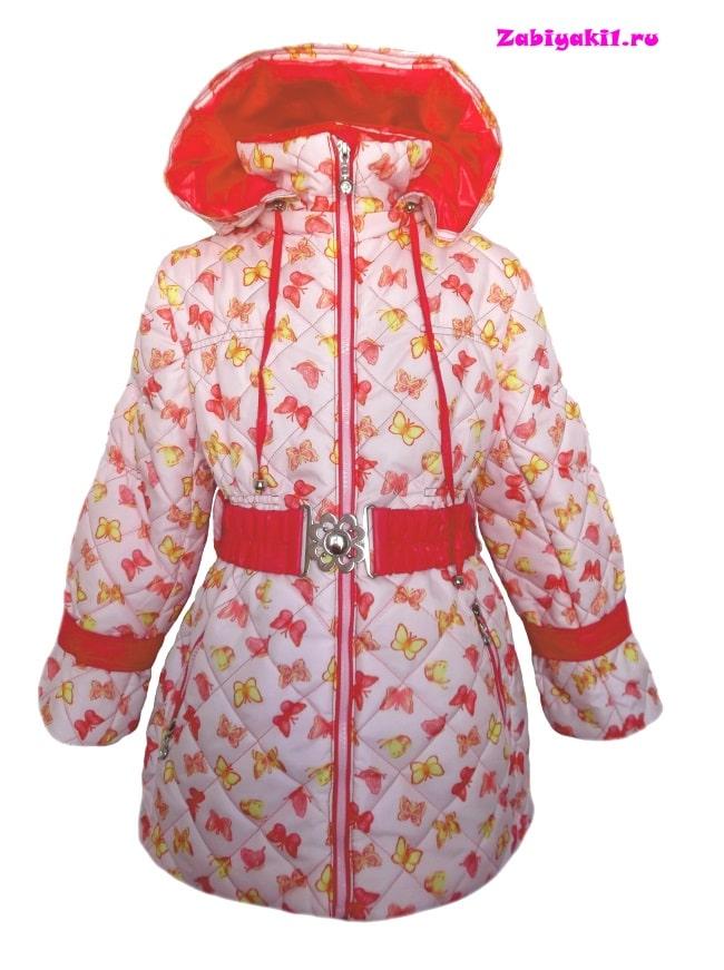 Пальто для девочки на осень-весну, Malinoffka