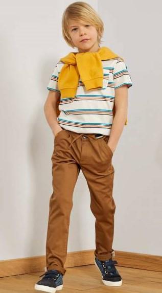 Летние брюки для мальчиков