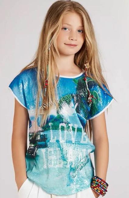 Летние футболки и майки для девочек