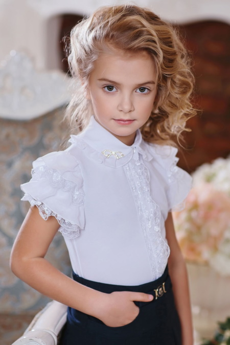 Блузки с короткими рукавами