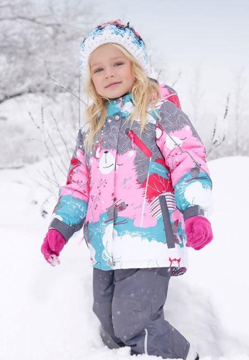 Зимние костюмы для девочек