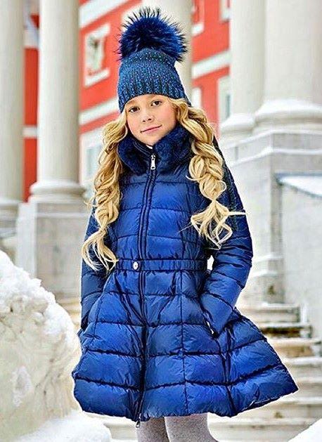 Детские пальто для девочек