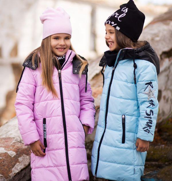 Демисезонные пальто для девочек