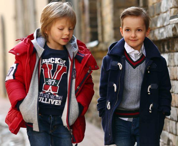 Демисезонная верхняя одежда для мальчиков