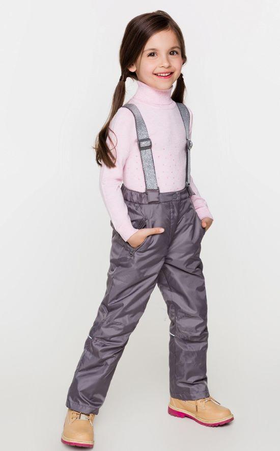 Утепленные брюки для девочек