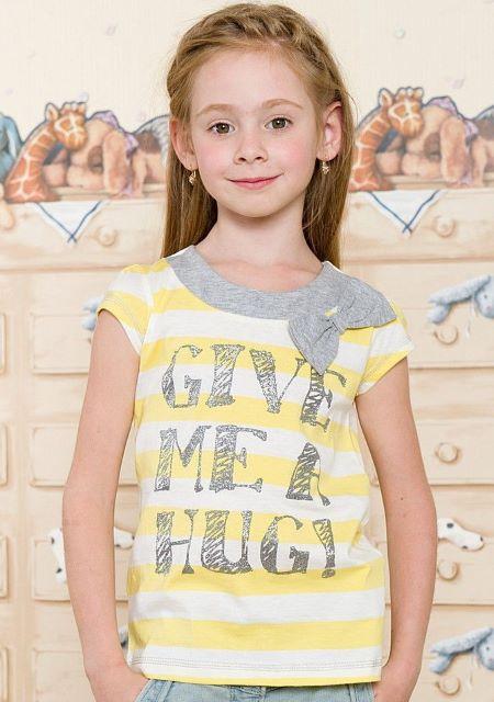 Летние футболки для девочек