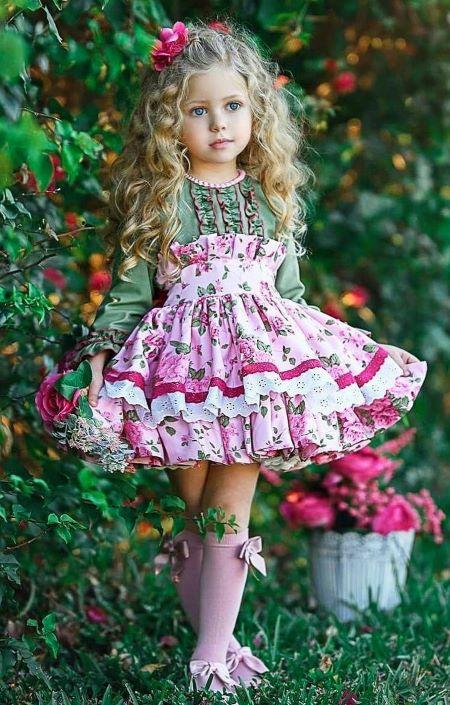Детские платья для девочек