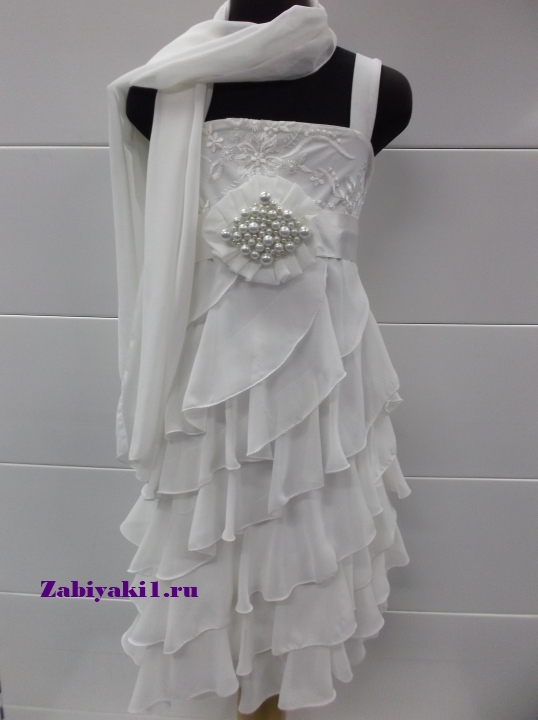Распродажа нарядных платьев для девочек